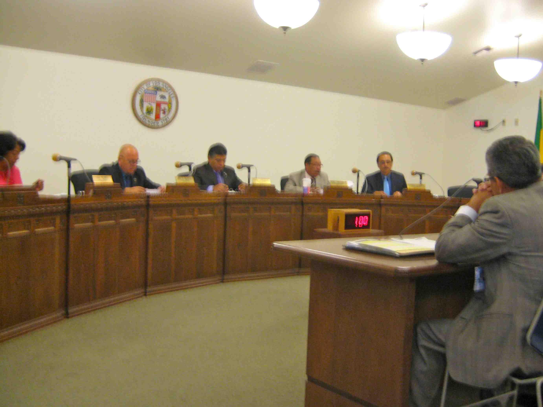 City Of Los Angeles Housing Community And Economic Development Committee