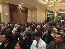 The Crowd at the Debate
