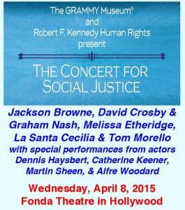 Concert Social Justice